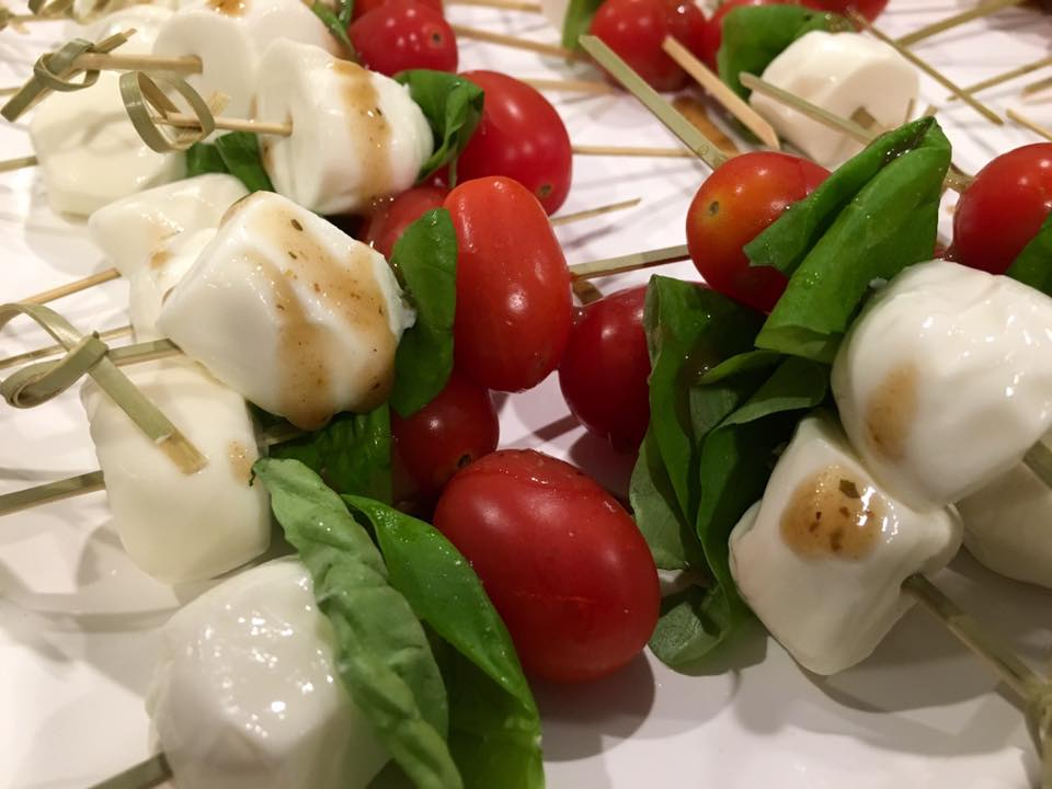 Tomatoes & Mozzarella Skewers