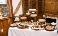 Evolution Catering Wedding Reception Dessert Spread
