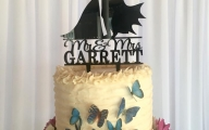 Evolution Catering Batman Wedding Cake