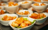 Fried Shrimp Appetizer Plates