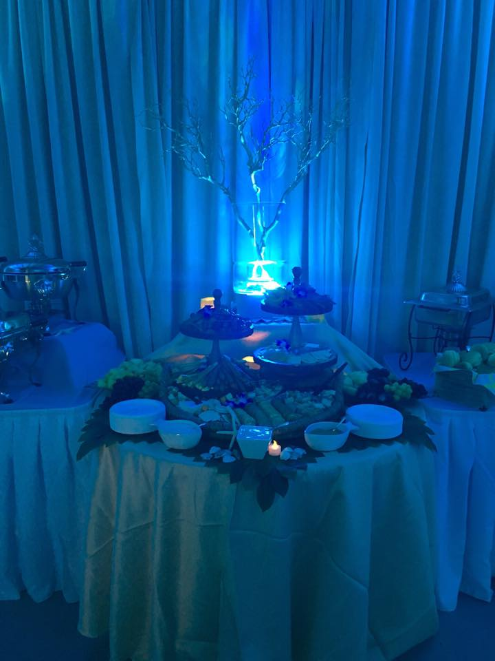 Wedding Reception Catering Hors d'oeuvre Spread