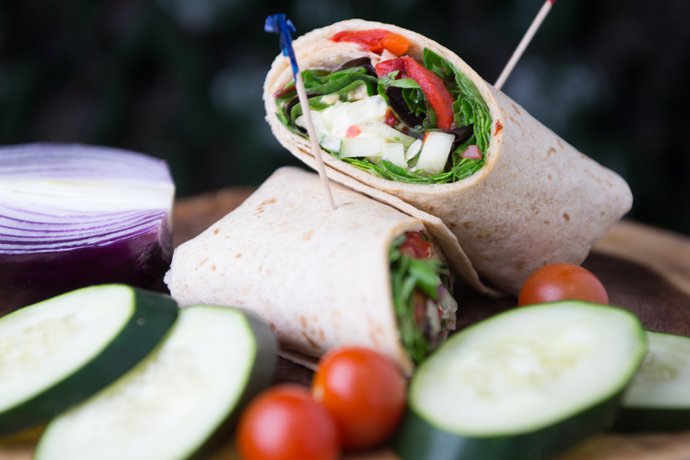 Corporate Catering Fresh Wraps